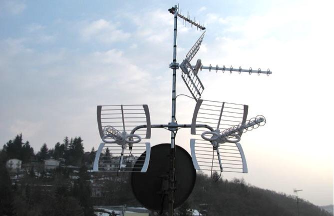 Antenne Wi-Fi e ricezione SAT
